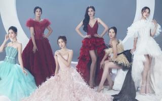 Sáu hoa hậu làm 'nàng thơ' bộ sưu tập thời trang