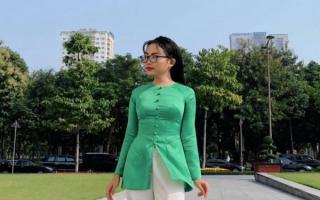Phương Mỹ Chi lên đồ với áo bà ba tôn lên vóc dáng hoàn hảo tuổi 17