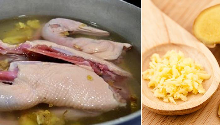 Tuyệt chiêu luộc vịt siêu đơn giản thịt sẽ mềm tan, hết sạch mùi tanh, đậm đà hương vị